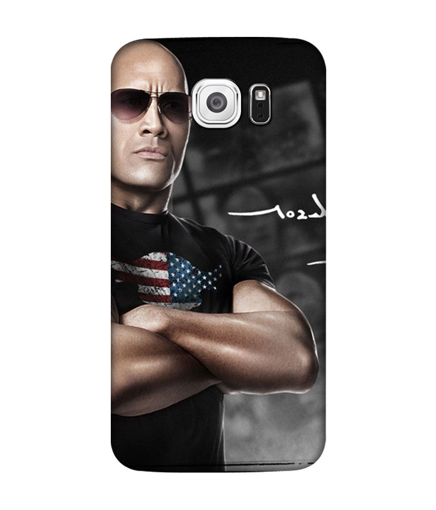 Creatives 3D WWE The Rock Samsung  Case