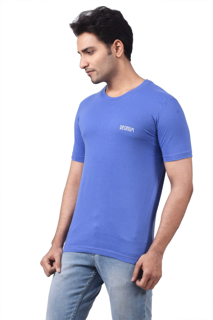 REGNUM SOLID PURPLE GREEN TSHIRT