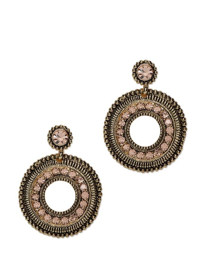 Noble Plated Zircon Earring
