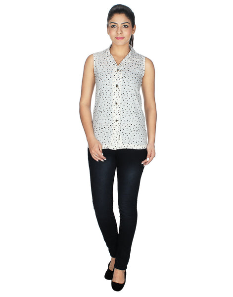 E Smart Deals White Colored Top