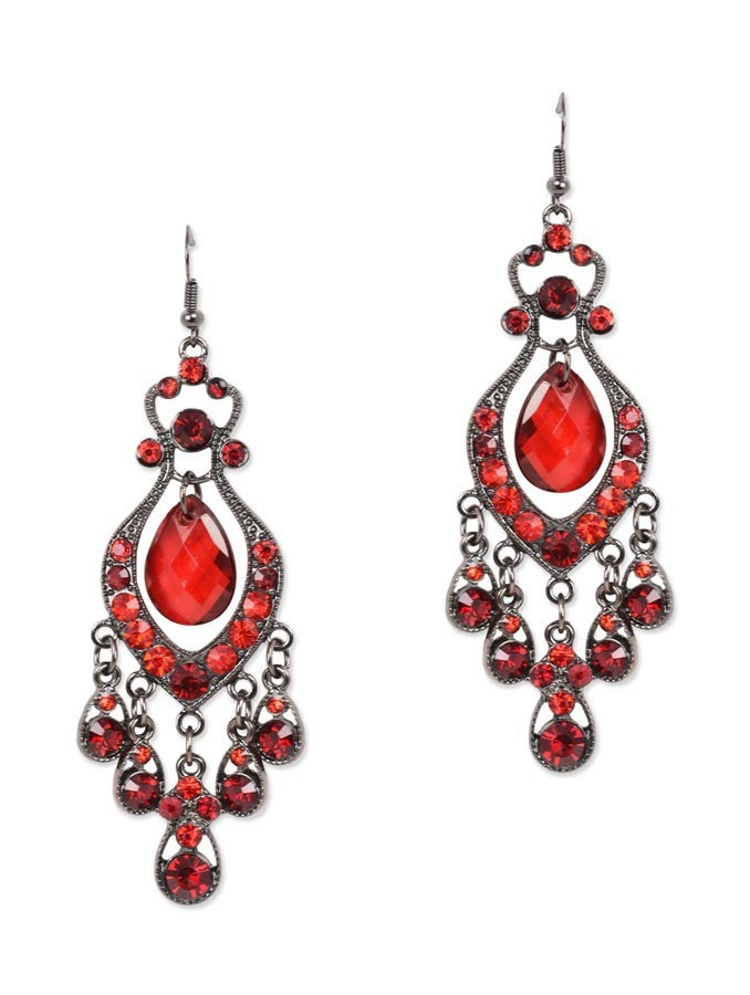 Luxury Brincos Drop Earring