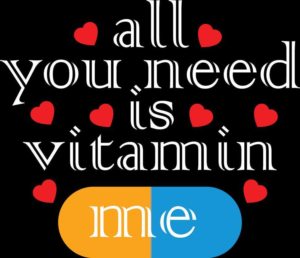Fashion Bar Vitamin ME Couple T-shirt