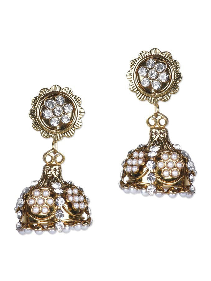 Gold Plated Antique Earring