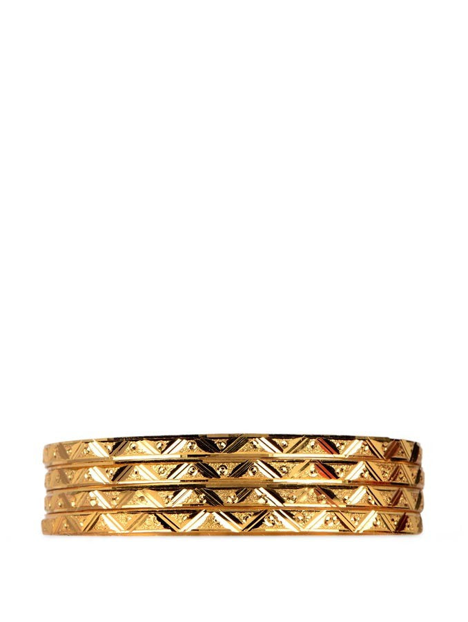 Gold Plated Bangles_3300