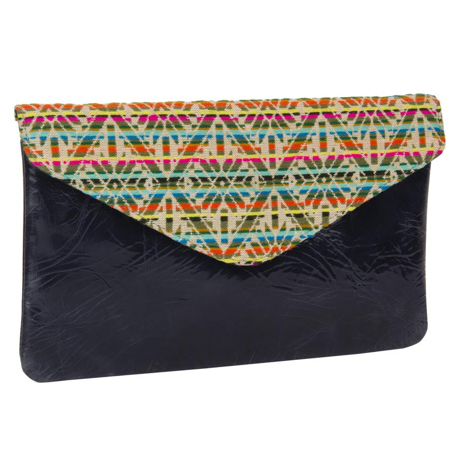 Women Massimo Italiano Blue Clutch