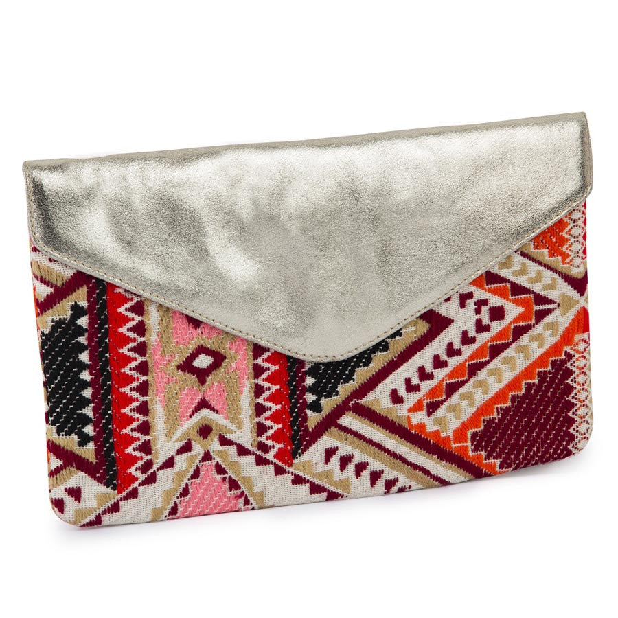 Women Massimo Italiano Red Clutch