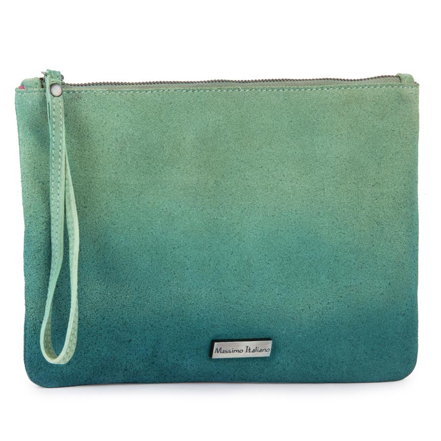 Women Massimo Italiano Green Clutch