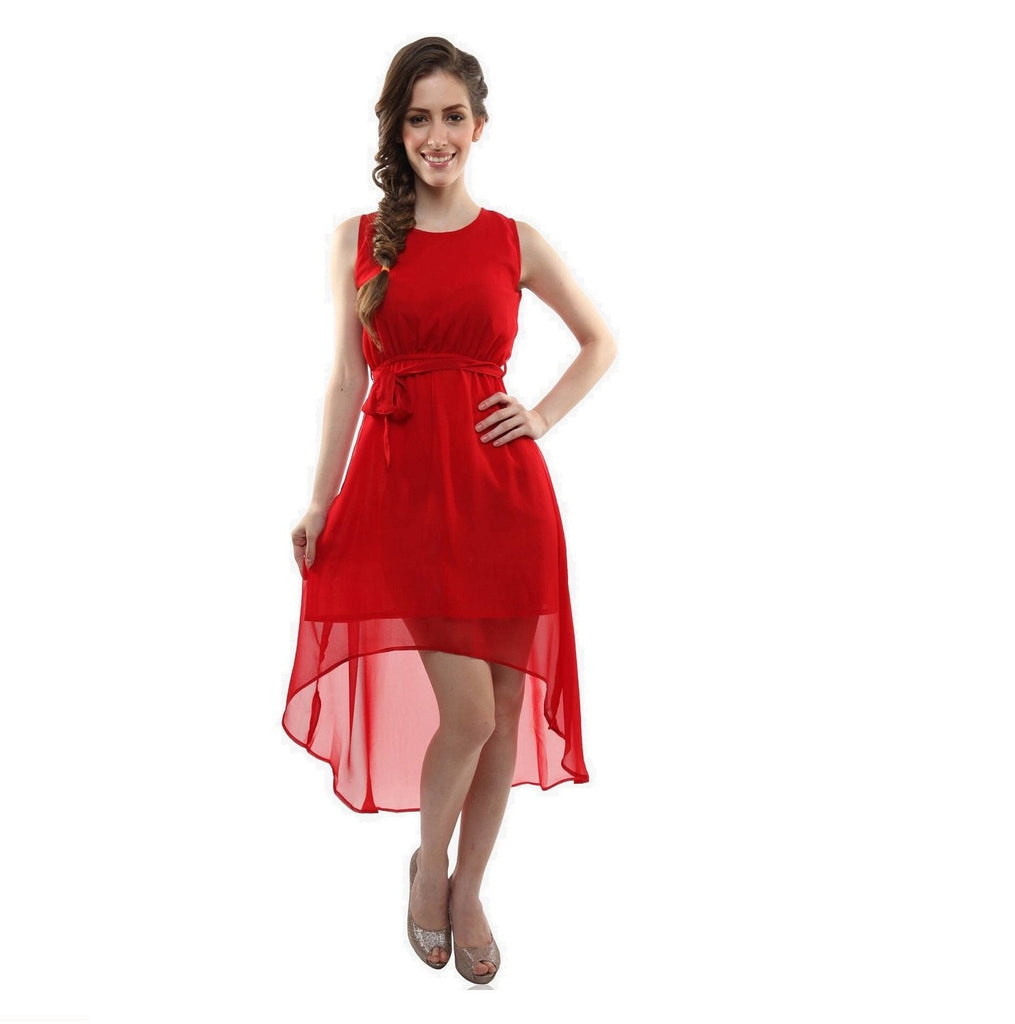 Wama Fashion Red Colour Kurti (TZ_red chilli)