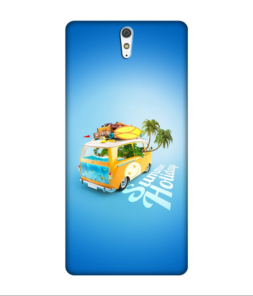 Creatives 3D Summer Holiday Sony Case