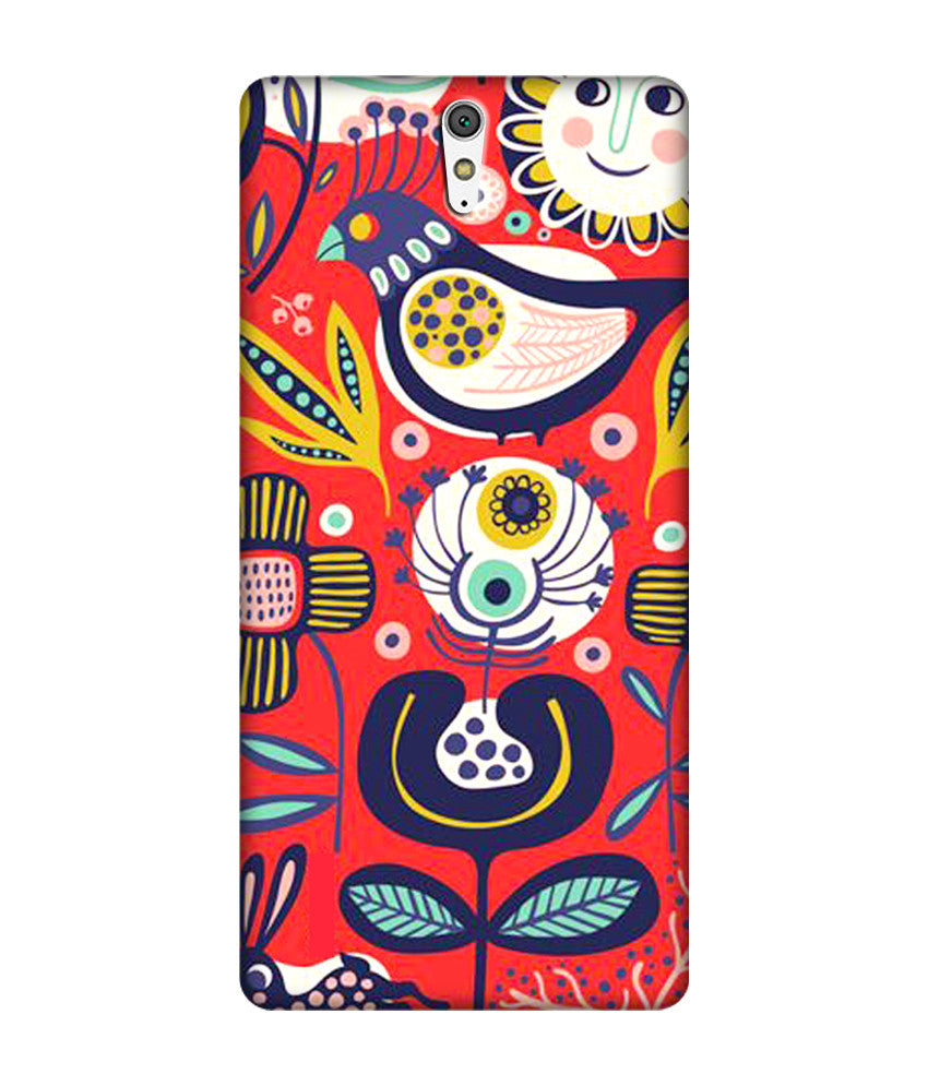 Creatives 3D Flowers Sony Case