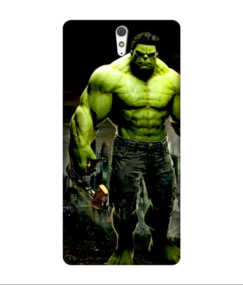 Creatives 3D Hulk Sony Case