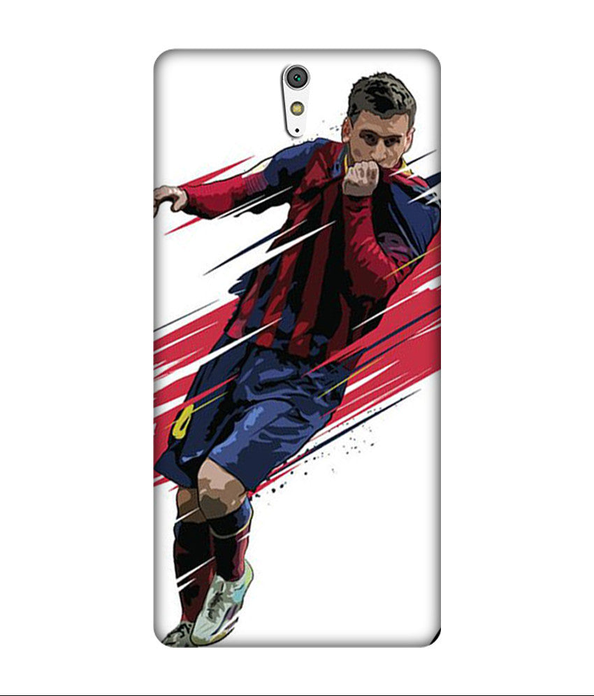 Creatives 3D Lionel Messi Sony Case