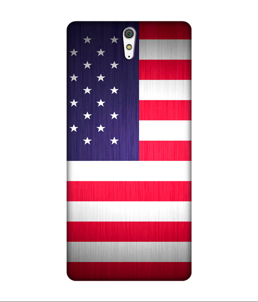 Creatives 3D United State of India Flag Sony Case