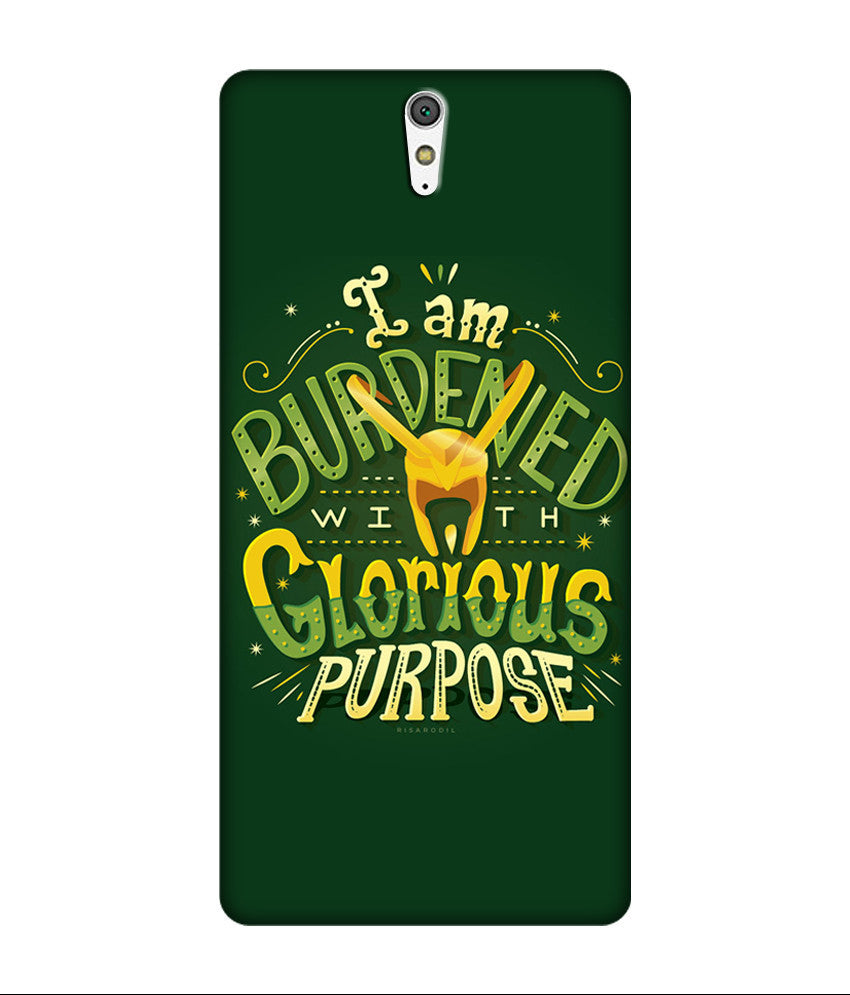 Creatives 3D I am Burdened With Glorious Purpose Sony Case