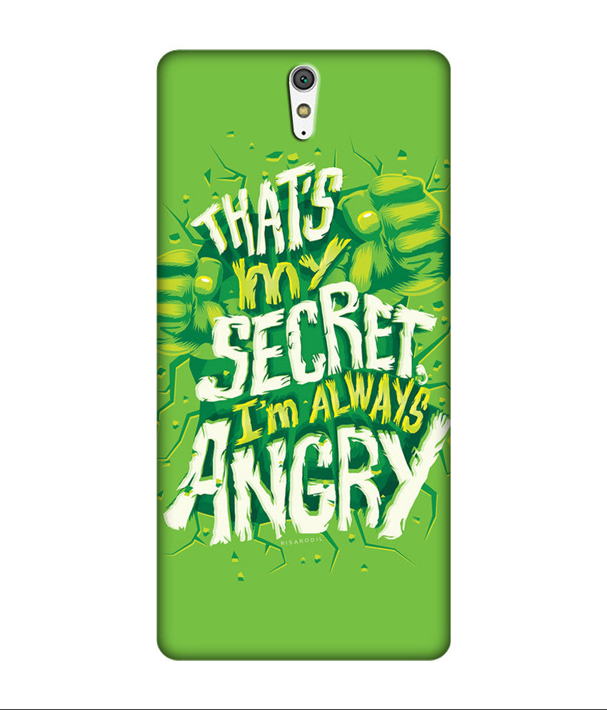 Creatives 3D Thats My Secret ,I am Always Angry Sony Case