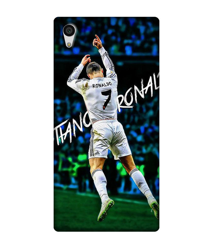 Creatives 3D cristiano ronaldo celebration 2015 Sony  Case