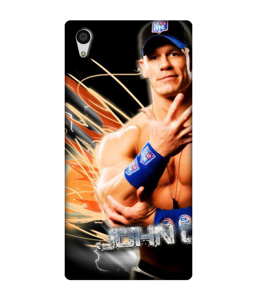 Creatives 3D John Cena Sony  Case