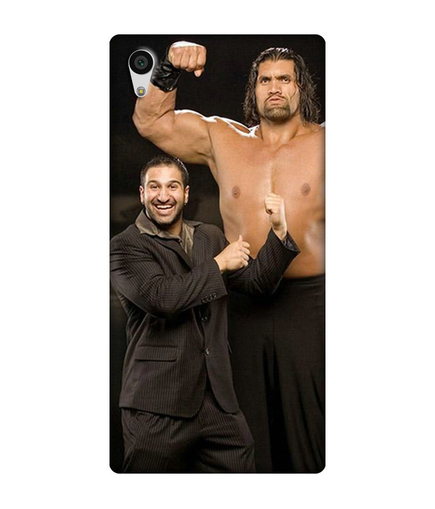 Creatives 3D WWE The Great Khali Sony  Case