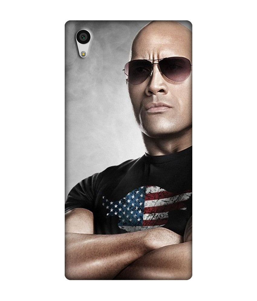 Creatives 3D WWE The Rock Sony  Case