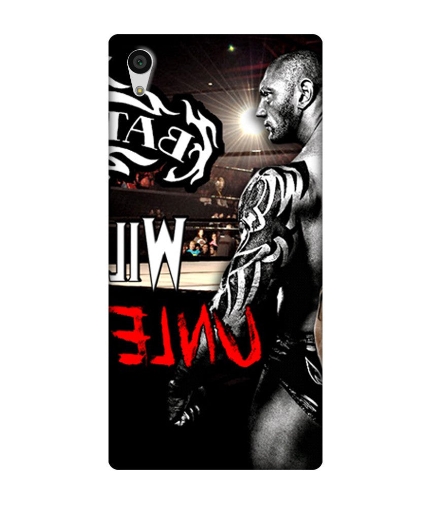 Creatives 3D WWE Batista Sony  Case
