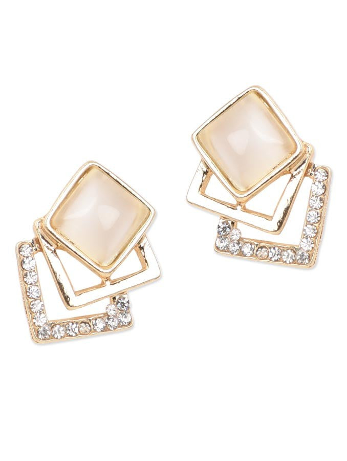 Fashion Sparking Rhinestone Stud Earring