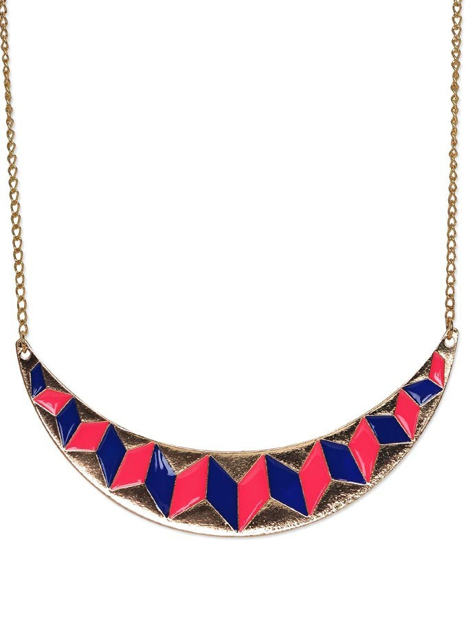 Retro Drop Glaze Necklace