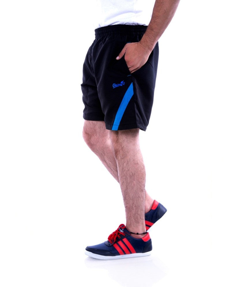 Choice4u Black Sports Shorts