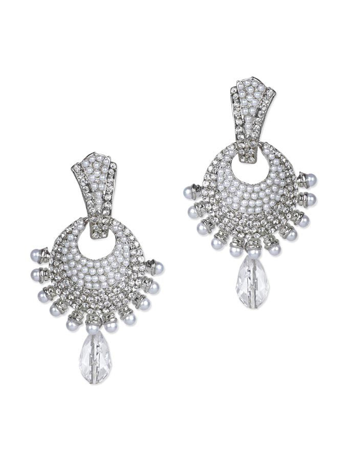 Chandelier Silver Drop Earring