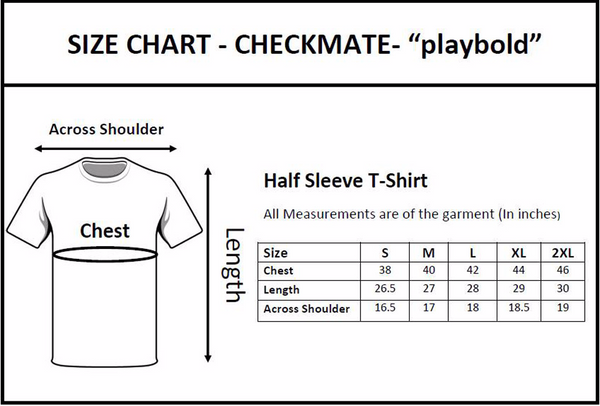 Checkkmate PARTNER IN CRIME T-shirt