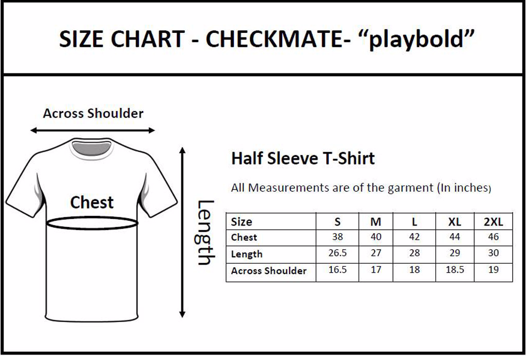 Checkkmate Attractive 2 Combo T-Shirt
