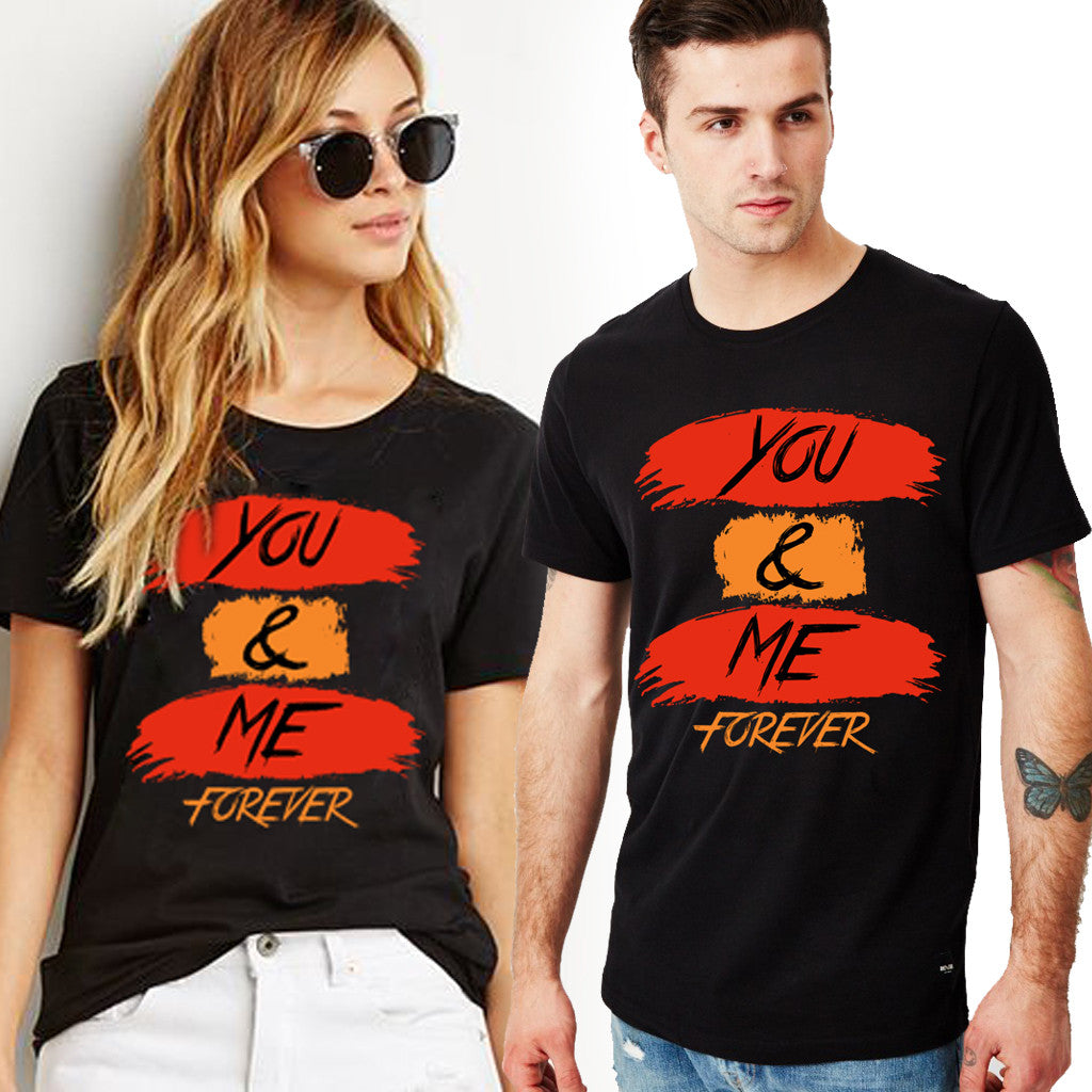 Fashion Bar You & Me Couple T-shirt