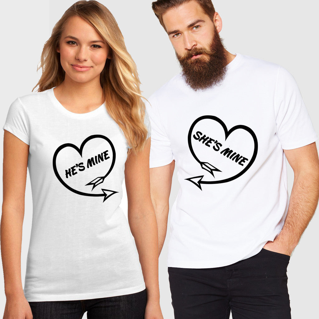 Fashion Bar Mine Couple T-shirt