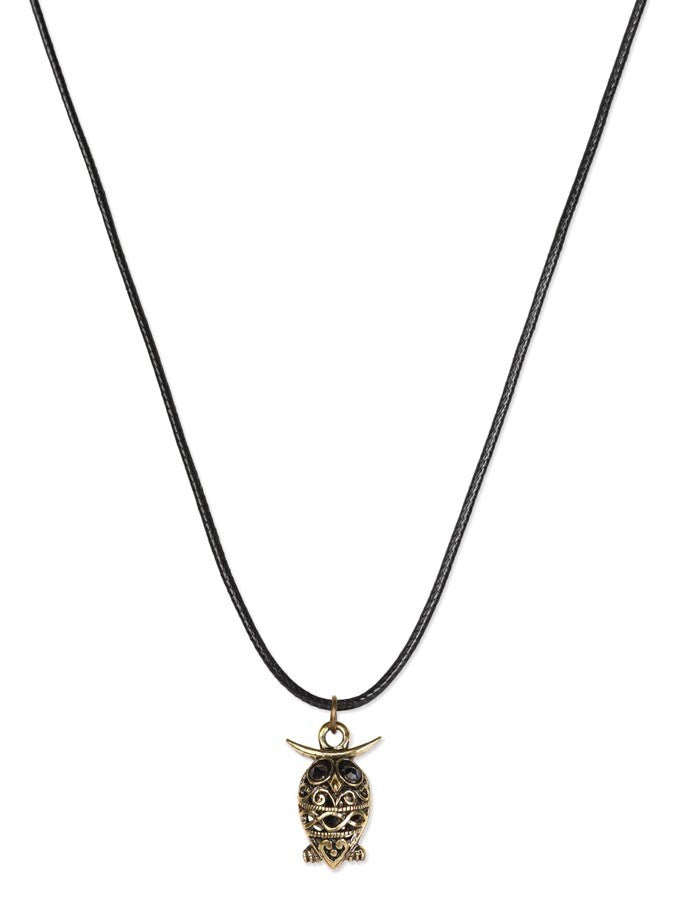 Exotic Designer Owl Necklace