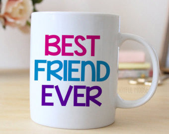 Chitchat Cafe Best Friend Ever Mugs