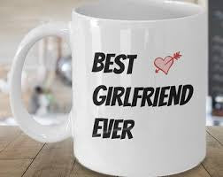 Chitchat Cafe Best Girlfriend Ever Mugs