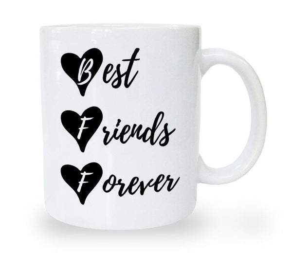 Chitchat Cafe Best Friends Forever Mugs