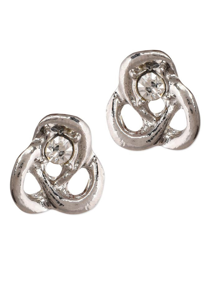 Magnificent Silver Retro Small Earring