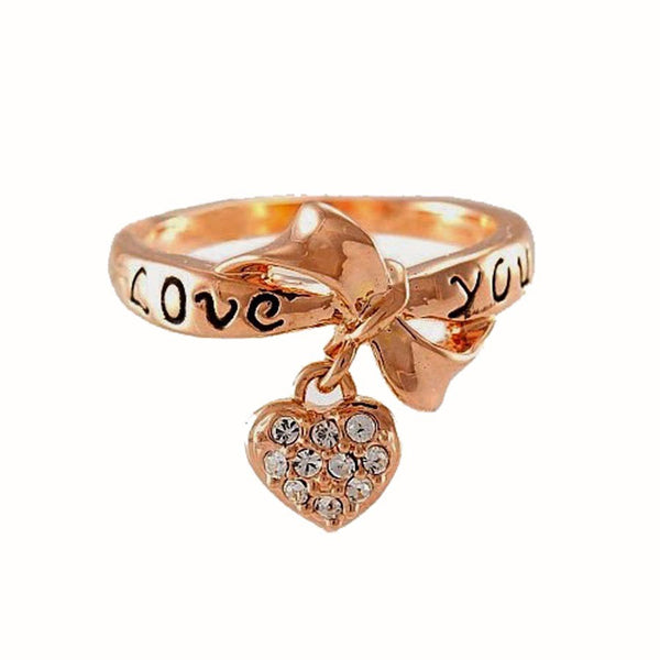 Love You Heart Ring