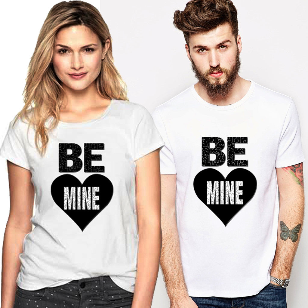 Fashion Bar Be Mine Couple T-shirt