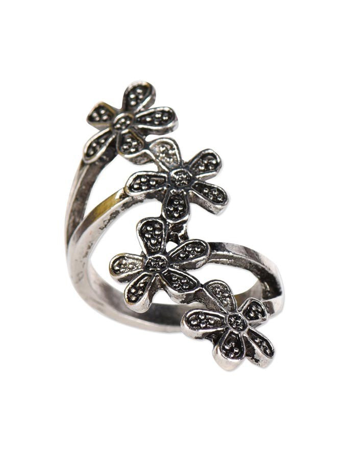 Cute Retro Flower Ring
