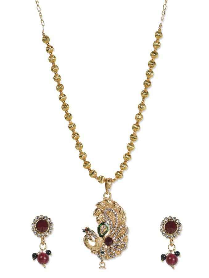 Marvellous Peocock Necklace Set