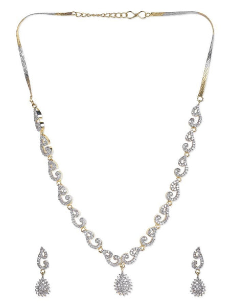 Amazing Gold Plated Necklace Set