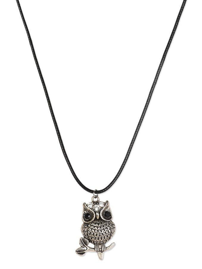 Dynamic Design Owl Necklace