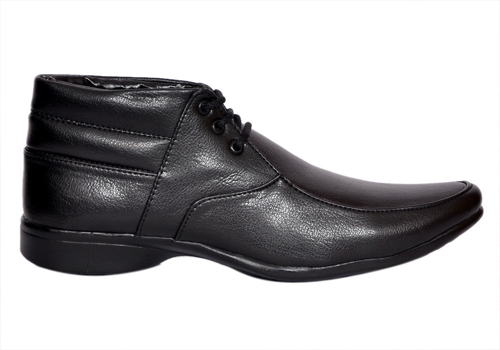 scootmart new black formal shoes