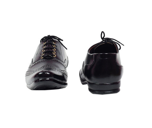 Scootmart Black Formal Shoes