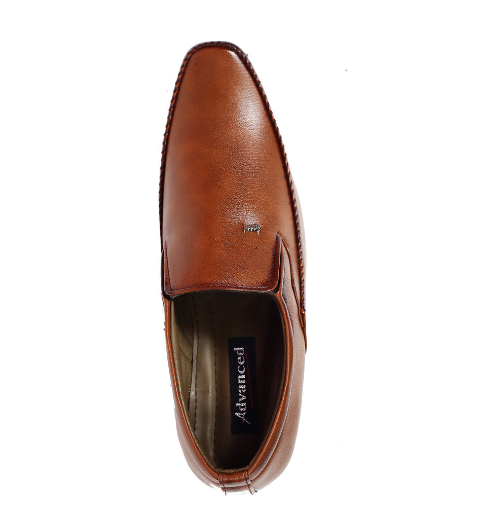 Scootmart Brown Formal Shoes