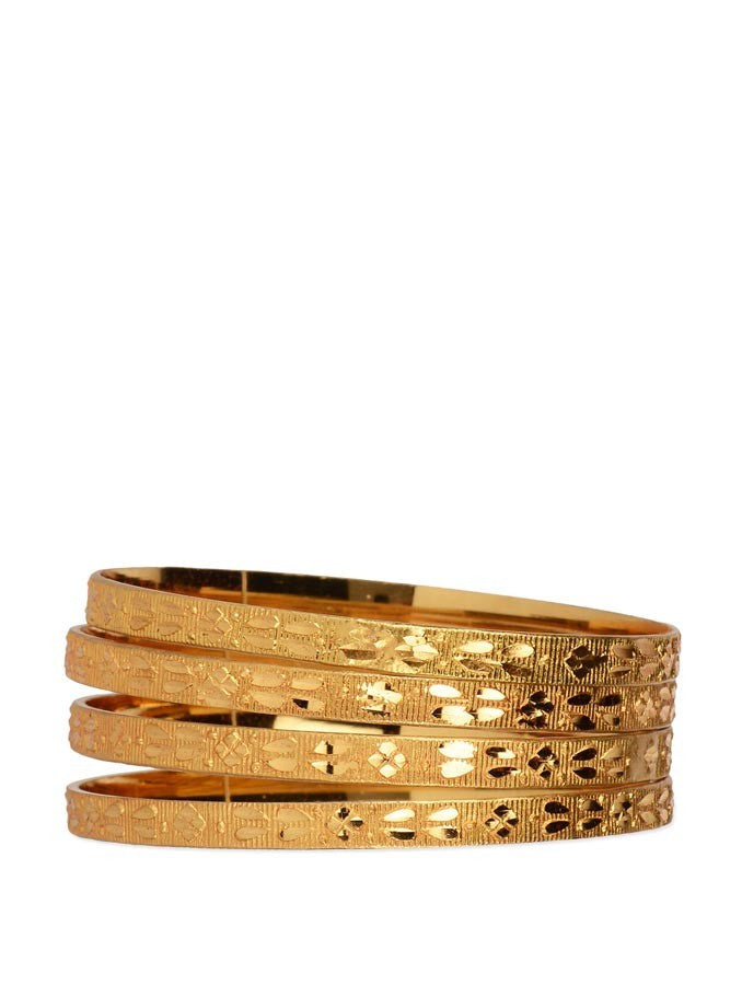 Gold Plated Bangle_ESD0448