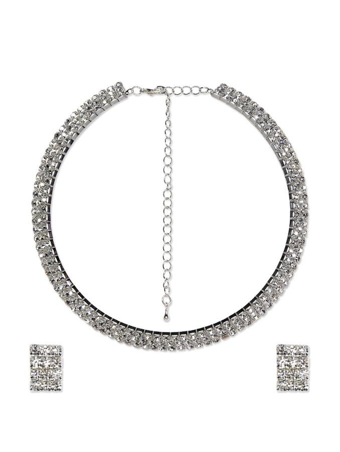 Zircon Bridal Necklace Set