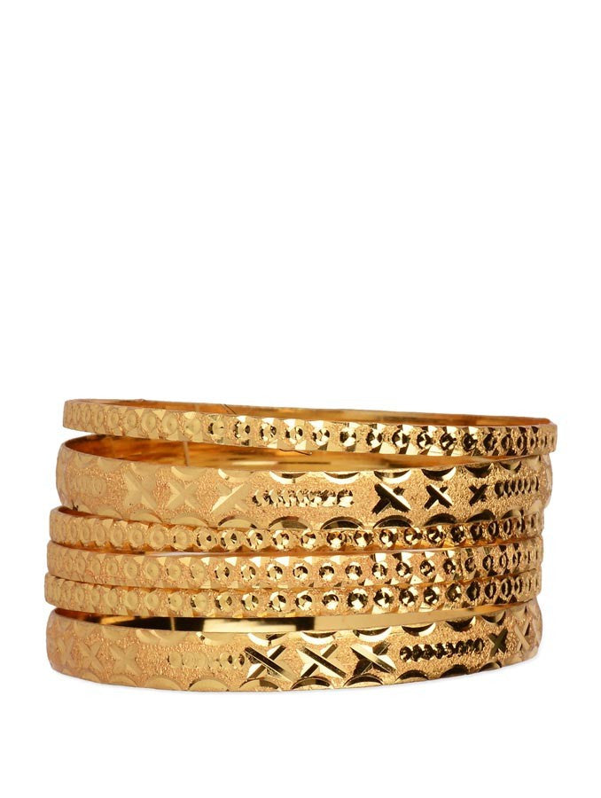 Gold Plated Bangle_ESD0446