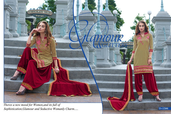 Rahi Fashion Beage Patiala Suit